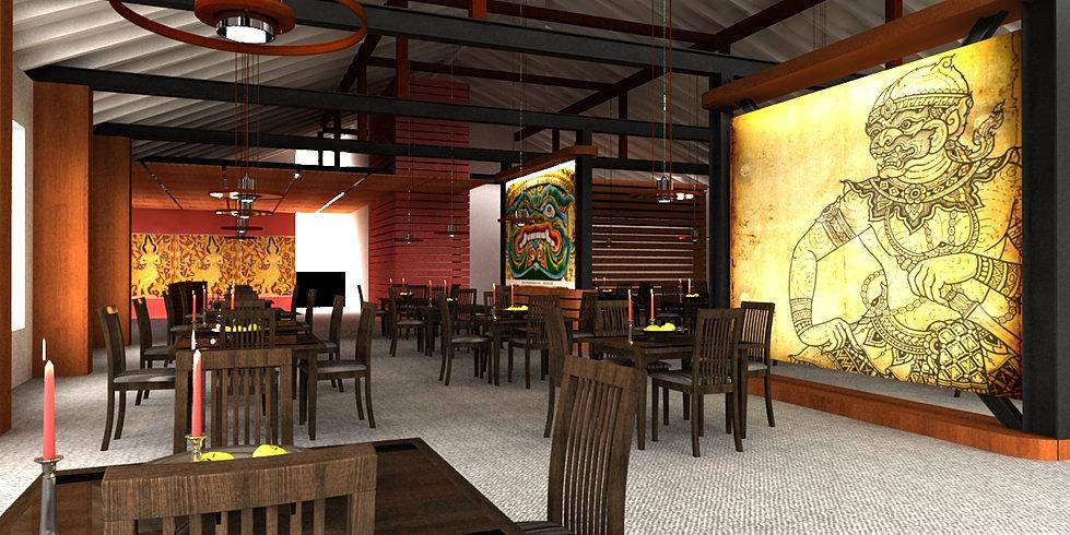 Best thai restaurant interior design ideas photos