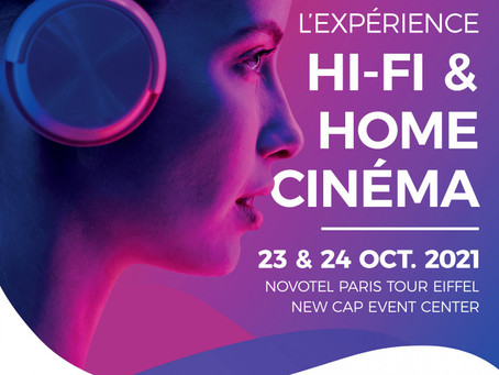 PAVS 2021 : Retour du plus important événement Hi-Fi et Home-Cinéma les 23 et 24 octobre à Paris !