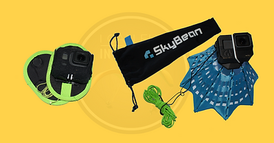 My #SkyBean #ChaseCam for GoPro 6/7 and #Flugsau Magnet Mount for GoPro 6/7