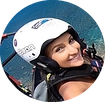 Veronica Weffer flew with I Can Fly in Madeira - Paragliding
