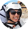 Selène flew with I Can Fly in Madeira - Paragliding