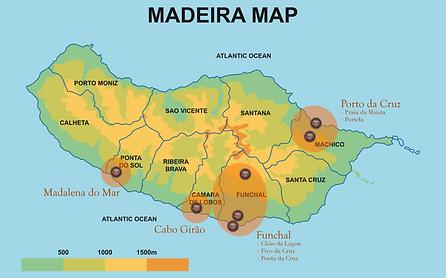 The best places to do Paragliding in Madeira Island - Funchal - Porto da Cruz - Cabo Girão - Calheta - Madalena do Mar