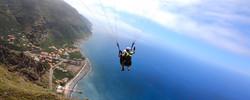 Paragliding Tandem Flight in Madeira Island (Funchal / Cabo Girão / Madalena do Mar / Porto da Cruz)
