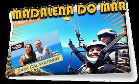 Parapente Madeira / Parapente Funchal / Tandem flight in Madalena do Mar, Madeira Island #MadalenadoMar #PontadoSol #Calheta #Canhas