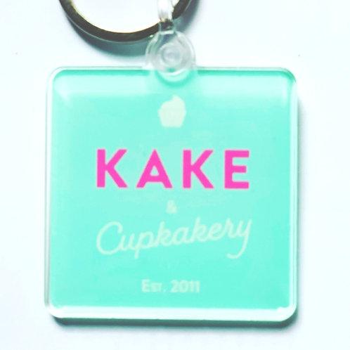 Kake and Cupkakery Key ring