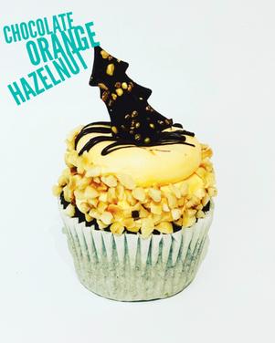 Chocolate ornage hazlenut