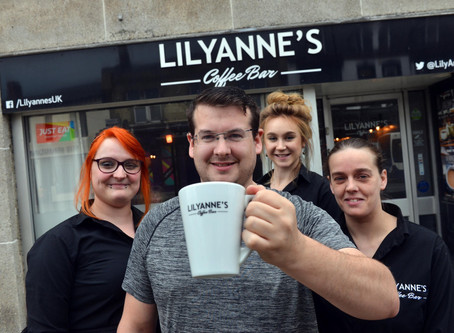 LILYANNE'S COFFEE BAR SHORTLISTED FOR BEST NEW BUSINESS