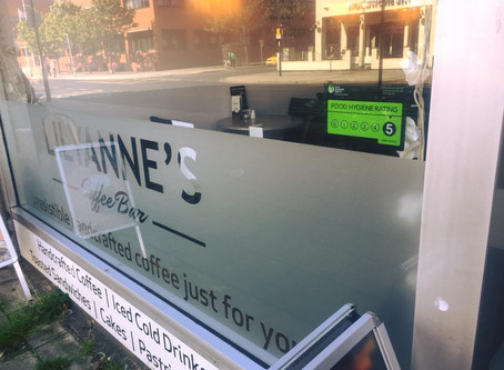 LILYANNE'S COFFEE BAR ACHIEVES VERY GOOD FOOD HYGIENE RATING