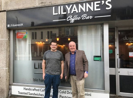 LILYANNE'S COFFEE BAR SUPPORTS SAVE HARTLEPOOL'S HEUGH BATTERY MUSEUM