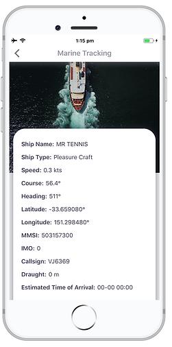 Infighto Live Marine Tracking