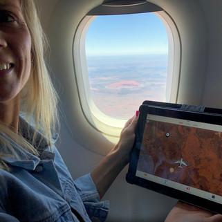Uluru as seen on Inflighto