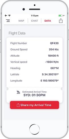 Inflighto Live Flight Data