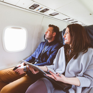 Book the window seat, download inflighto and look out the window!