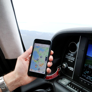 General Aviation flights are tracked by Inflighto too!
