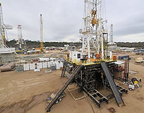 Land drilling rig - oil and gas industry