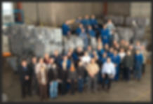 PREP group photo with AHC offshore drawworks
