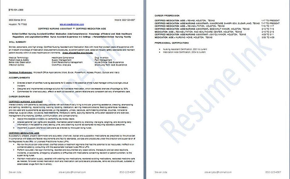 Steve Jobs Resume Sample  Steve Jobs Resume