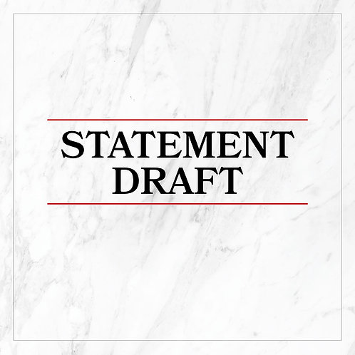 Statement Drafting Service