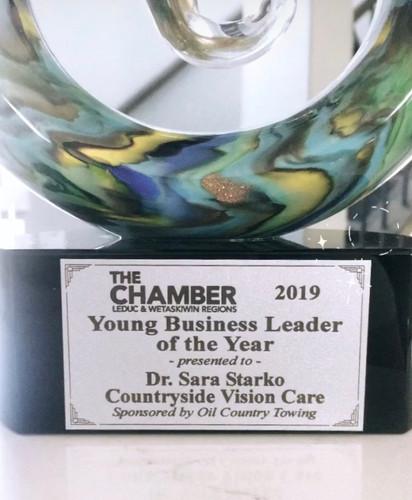 Dr. Starko's Chamber of Commerce Award