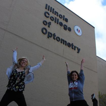 Dr. Starko and her Optometry School roommate