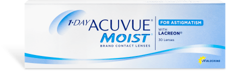 Acuvue 1-Day Moist for Astigmatism 30 pack