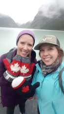 Dr. Starko and Taylor at Lake Louise