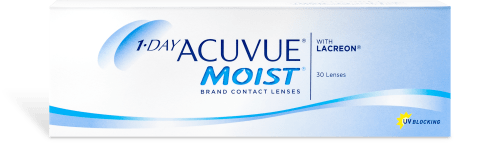 Acuvue 1-Day Moist 30 pack