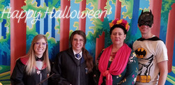 Countryside Vision Care and Calmar Chiropractic on Halloween