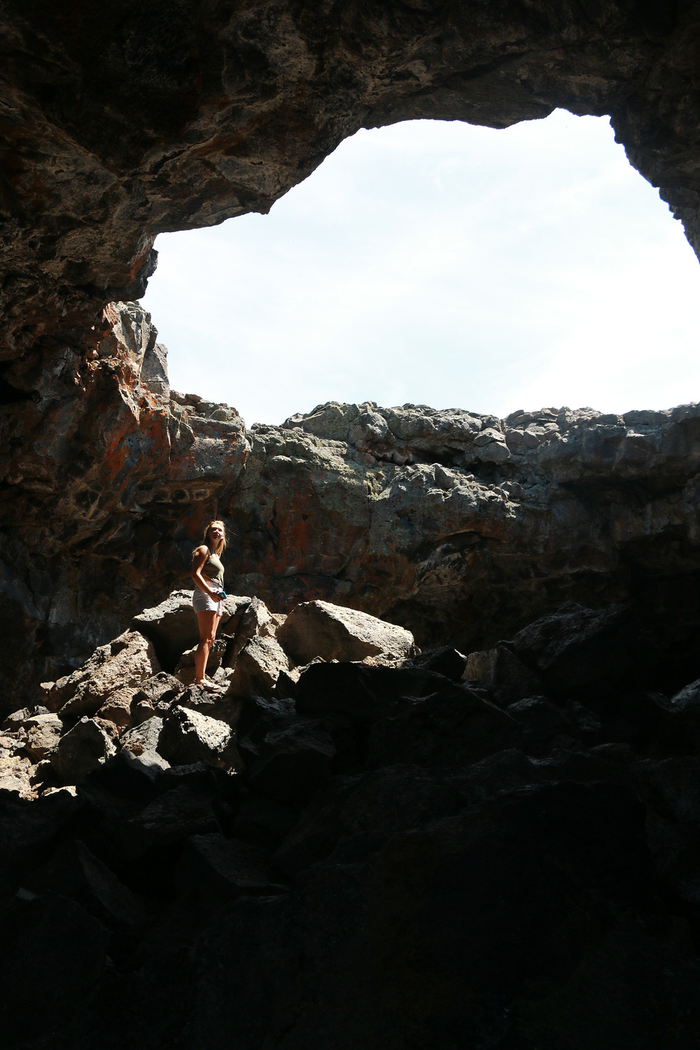Caves in Carters of the Moon National Park