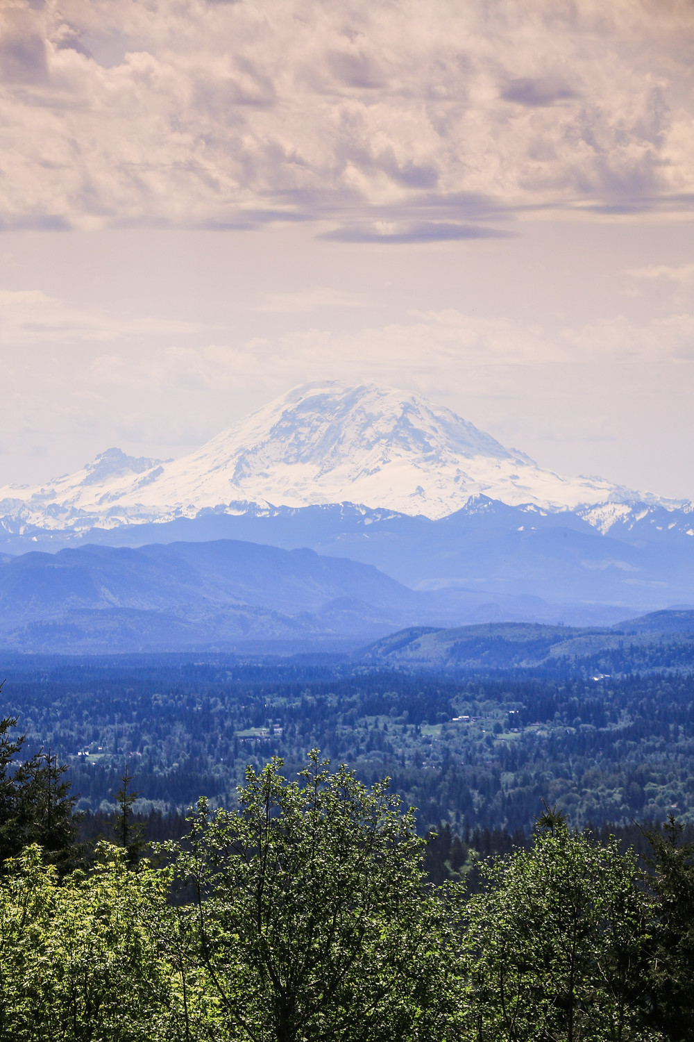 Mount Rainier as seen from Poo Poo Point