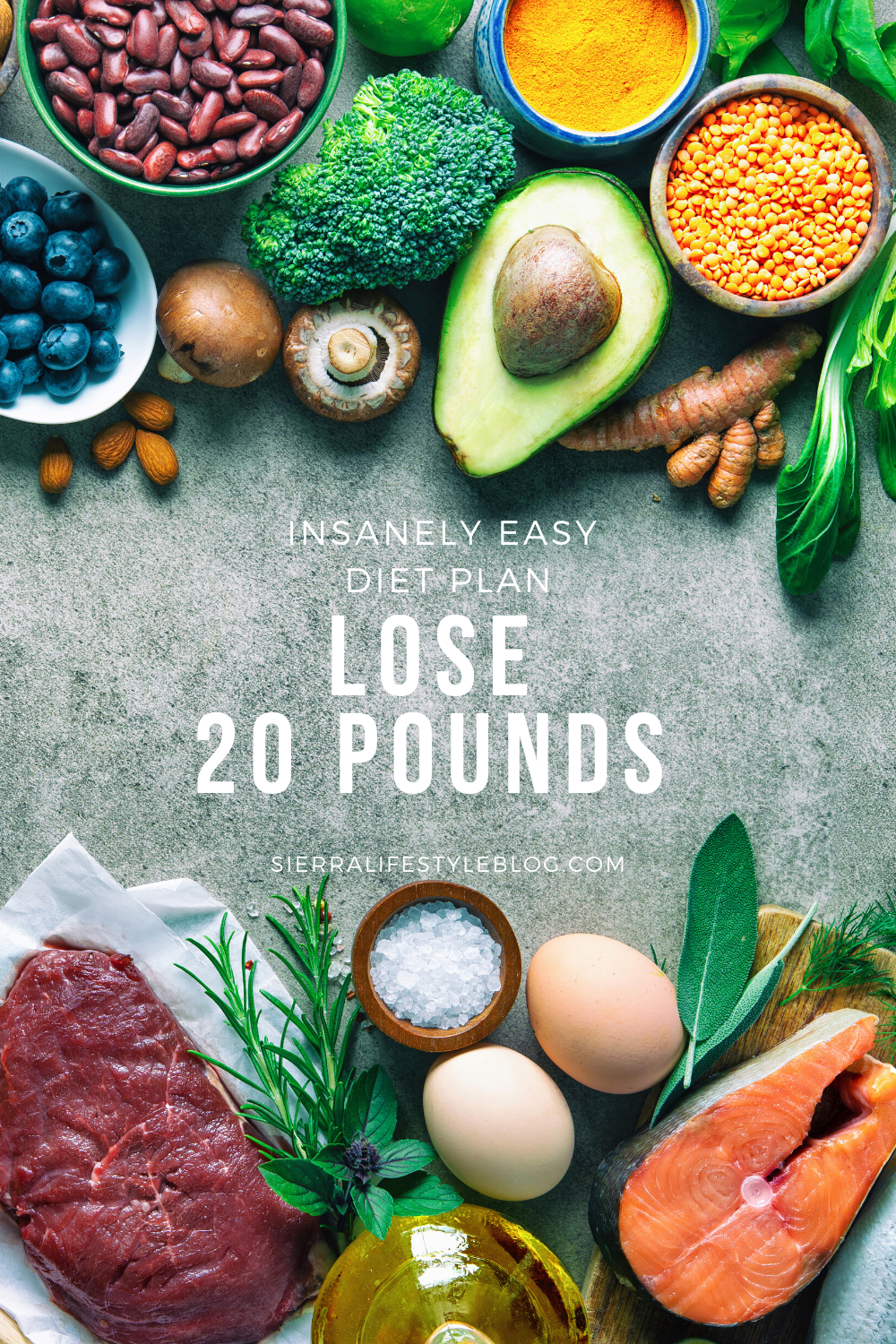 how to lose 20 pounds pinterest pin