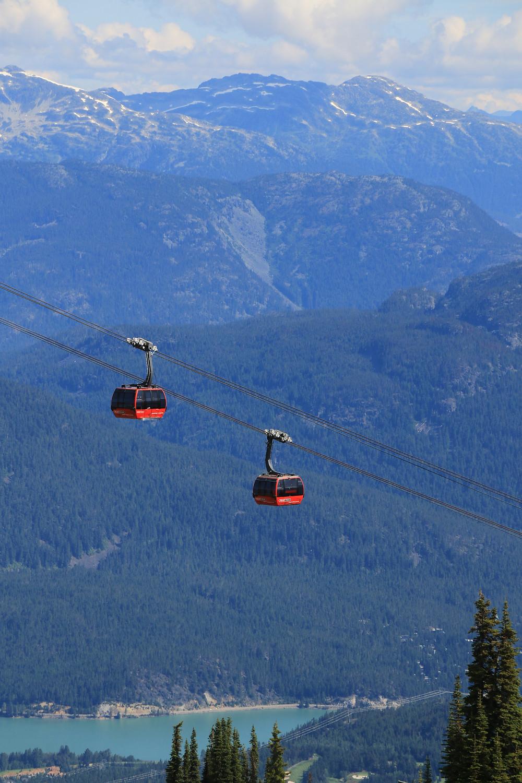 Whistler Peak 2 Peak Gondola Cabins