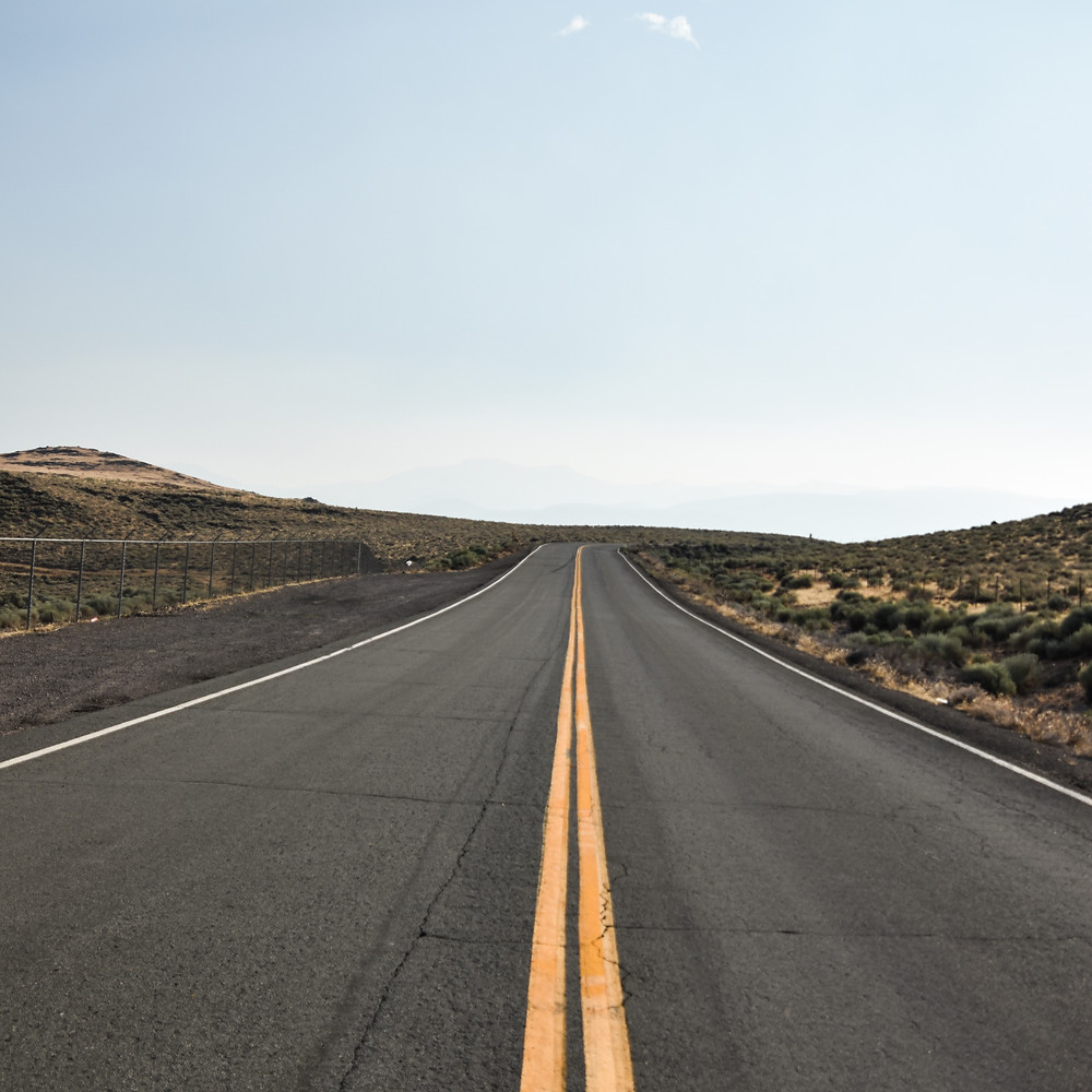 A road with no cars