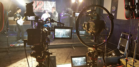 U2LV on set.jpg