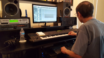Dave White at Custom Home Studio