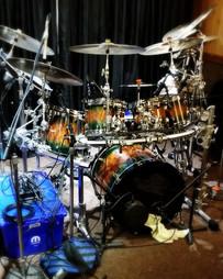 Mike Newton Drum  Set