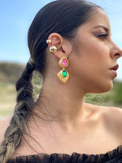 Vintage Gem Earrings