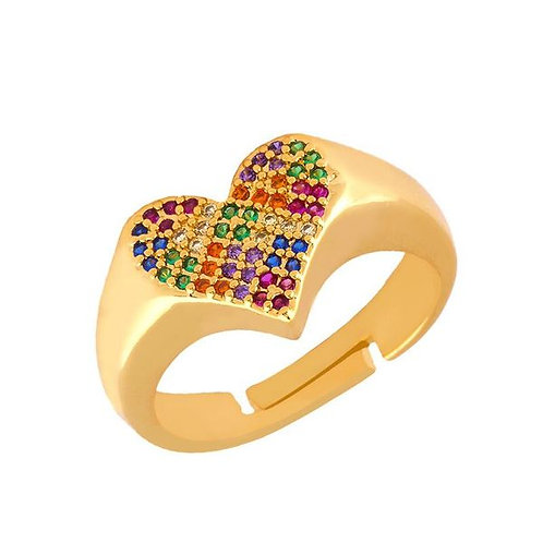 Heart of Stones Ring