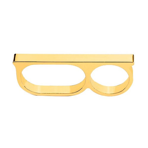 Punch Line Ring (Gold)
