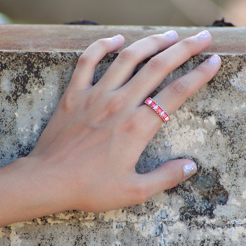 Legally Pink Ring
