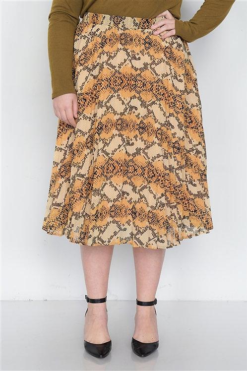 Fierce Pleated Skirt