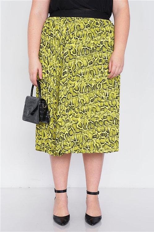Print Vibes Skirt