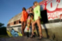 Neon Army Pant, Blazer Dress