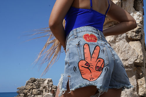Peace Denim Short