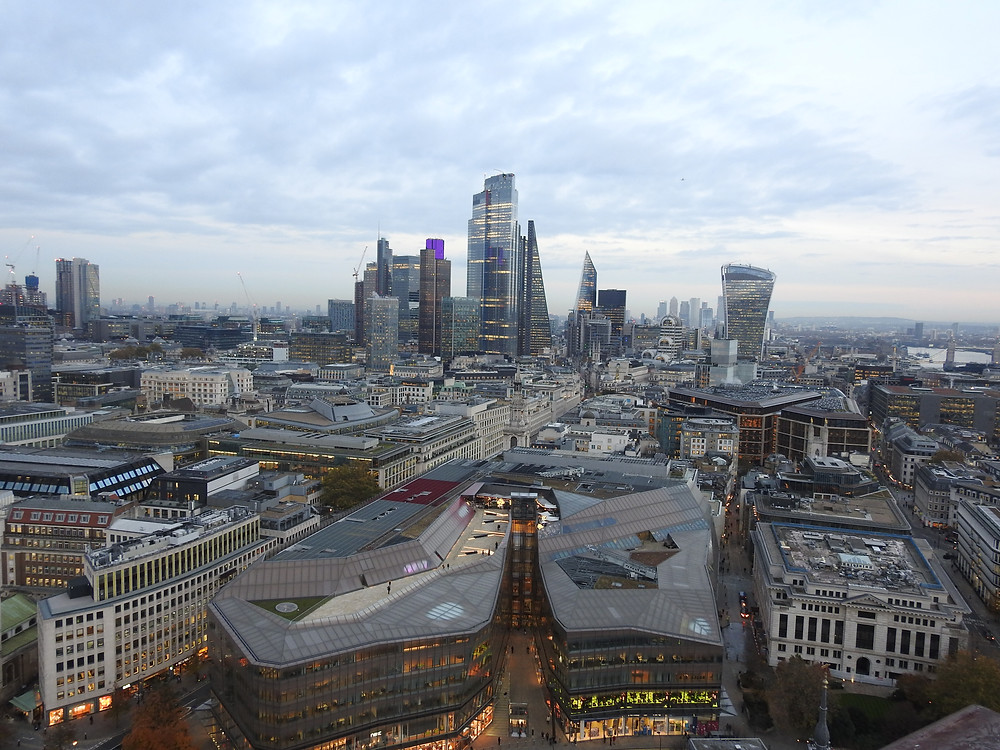 View from the Golden Gallery, Saint Paul's Cathedral
