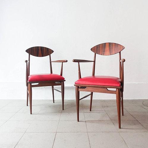 Armchair in Sucupira Wood, 1960's