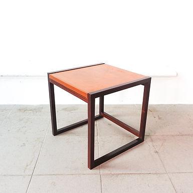 """Cubox'4"" Side Table  by António Garcia for Móveis Sousa Braga, 1970"