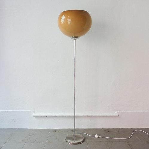 Vintage Portuguese Floor Lamp in Guzzini Style, 1960s