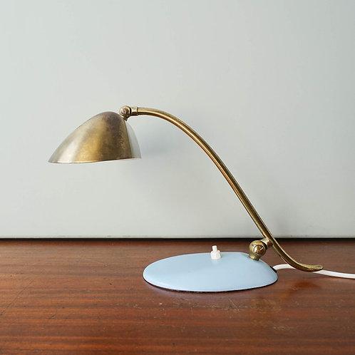 Desk or Piano Brass Lamp, 1950's