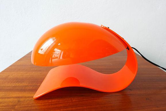 70's Acrylic Table Lamp